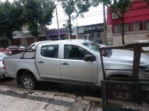 (Foto camioneta utilizada por las víctimas)