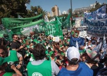 Marcharán a Casa de la Provincia de Buenos Aires y confluirá con la movilización docente. Foto Archivo