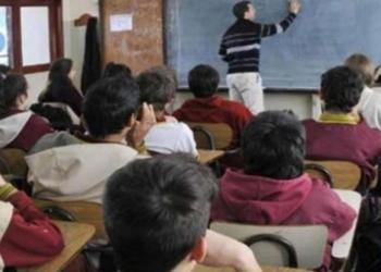 La gestión de Vidal dejó malos números en la gestión escolar. Foto Archivo