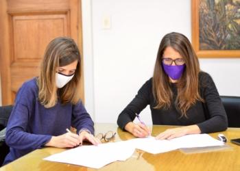 Firma convenio ANSES y MMGyD scaled