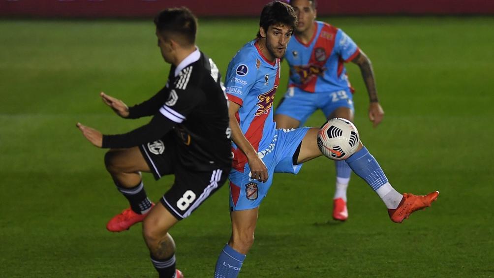 Albertengo marcó el primero, pero no alcanzó. (Foto: Ramiro Gómez)