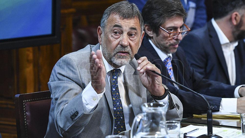 La lista para senadores está encabezada por Carlos Caserio.