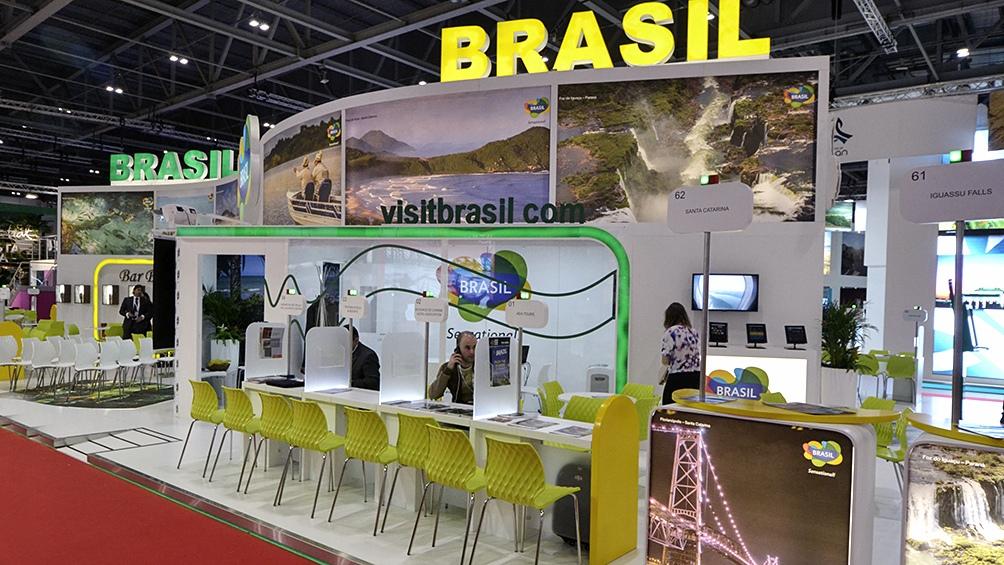 Embratur retomó la promoción internacional de sus destinos turísticos, que incluyen acciones tales como la participación en ferias internacionales y el lanzamiento de campañas publicitarias.