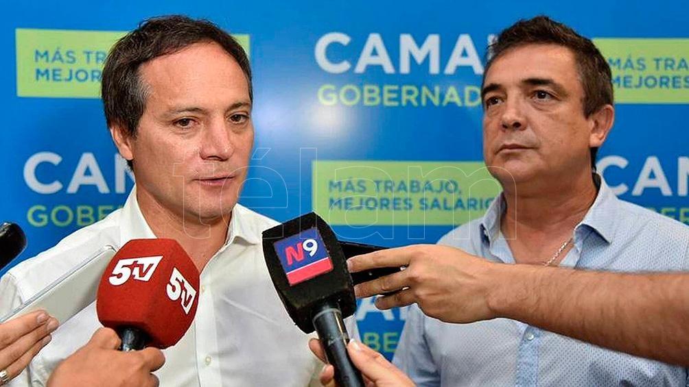 """""""Alianza Celeste y Blanca 501"""", dentro del Frente de Todos, llevará a Carlos """"Camau"""" Espínola como precandidato al Senado de la Nación."""