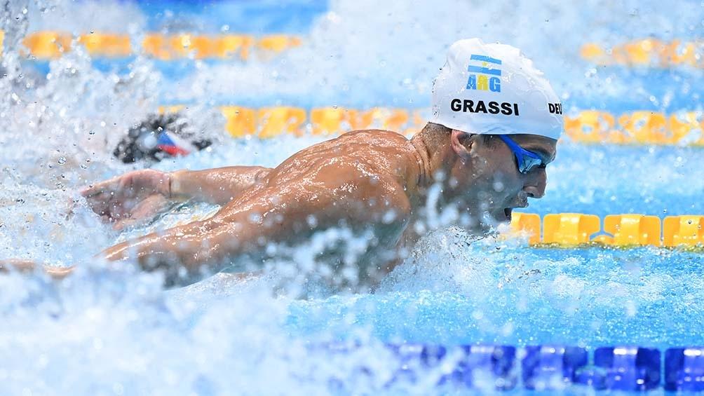 """El nadador comentó que """"la exigencia y el nivel"""" de su deporte """"demandan que todo tenga que salir perfecto"""