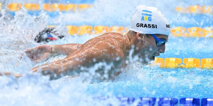 ha sido bastante dificil llegar a estos juegos olimpicos afirmo el nadador grassi