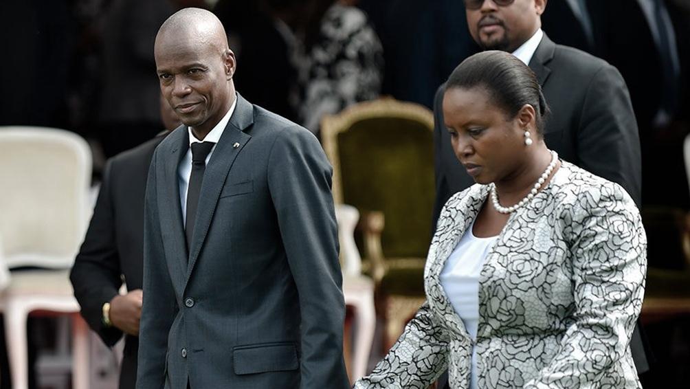 Jovenel Moise y su esposa fueron atacados a balazos el pasado 7 de julio, dando muerte al mandatario.