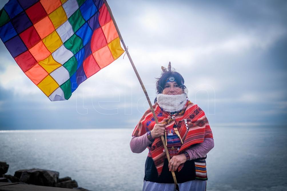 En Mar del Plata también se celebró el Día de la Pachamama Foto:Diego Izquierdo