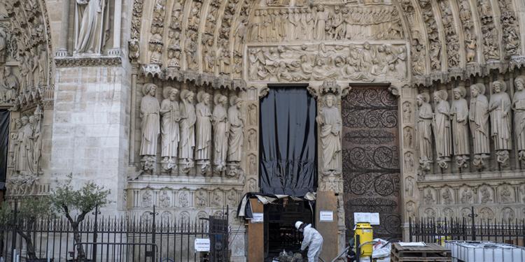 concluyen los trabajos de consolidacion de notre dame en paris y dan paso a su restauracion