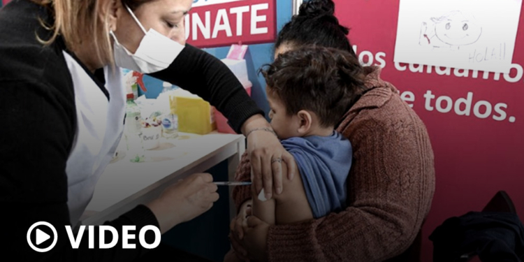 comenzo la vacunacion pediatrica contra el coronavirus en la provincia de buenos aires