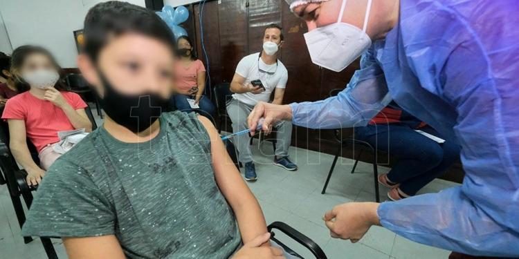 el gobierno bonaerense envio mas de 600 mil turnos de vacunas para ninos y ninas