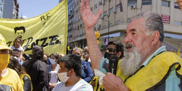 el mijd levanto la protesta en el obelisco y marcha a la camara de la construccion