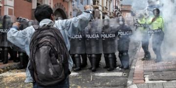 indigenas anuncian segundo dia de protestas contra la politica economica de lasso