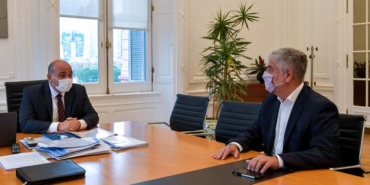 manzur analizo con el nuevo secretario de comercio interior los desafios de su gestion